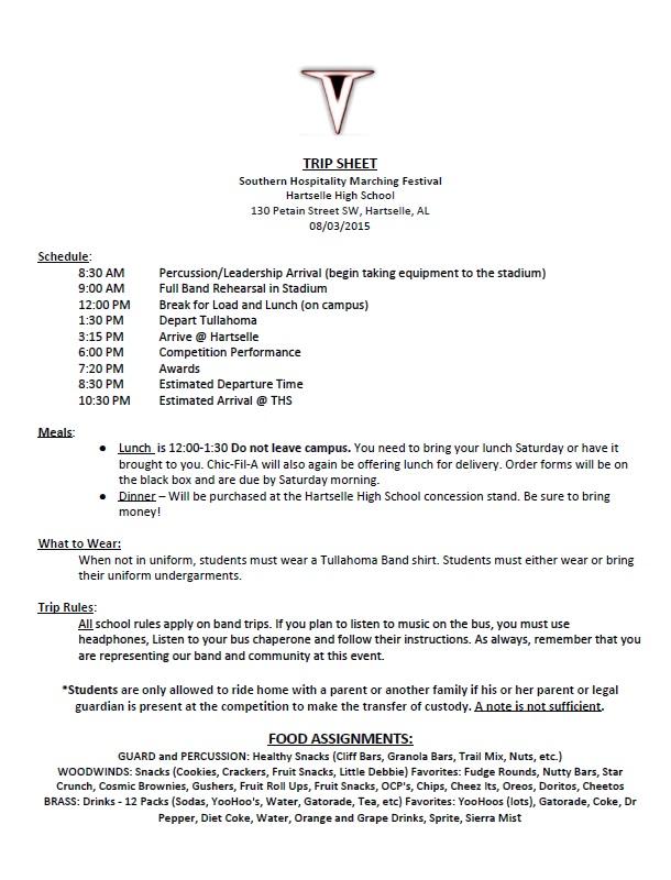 TripSheet-SouthernHospitalityMarchingFestival2015