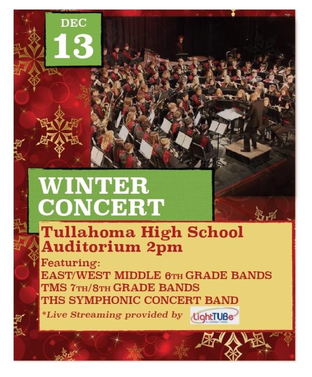 Winter Concert Poster 2015