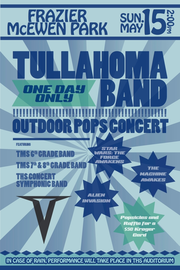 Tullahoma Band Pops Concert 2016